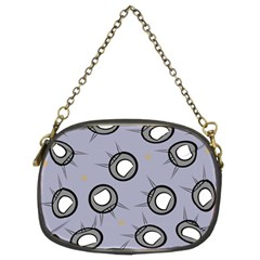Rocket Ship Wallpaper Background Chain Purses (Two Sides)