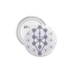 Tree Of Life Flower Of Life Stage 1.75  Buttons