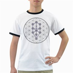 Tree Of Life Flower Of Life Stage Ringer T-Shirts