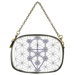Tree Of Life Flower Of Life Stage Chain Purses (Two Sides)