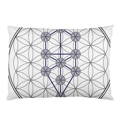 Tree Of Life Flower Of Life Stage Pillow Case