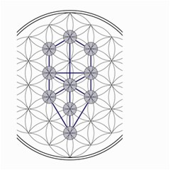 Tree Of Life Flower Of Life Stage Small Garden Flag (Two Sides)