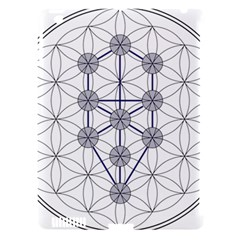 Tree Of Life Flower Of Life Stage Apple iPad 3/4 Hardshell Case (Compatible with Smart Cover)