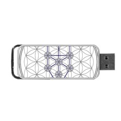 Tree Of Life Flower Of Life Stage Portable USB Flash (One Side)