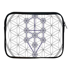 Tree Of Life Flower Of Life Stage Apple iPad 2/3/4 Zipper Cases