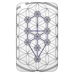 Tree Of Life Flower Of Life Stage Samsung Galaxy Tab 3 (8 ) T3100 Hardshell Case