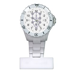 Tree Of Life Flower Of Life Stage Plastic Nurses Watch