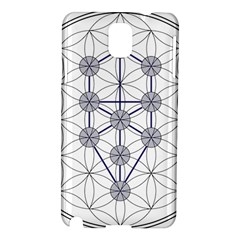 Tree Of Life Flower Of Life Stage Samsung Galaxy Note 3 N9005 Hardshell Case