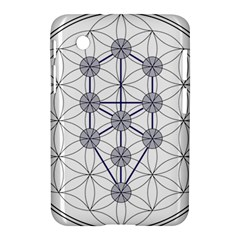 Tree Of Life Flower Of Life Stage Samsung Galaxy Tab 2 (7 ) P3100 Hardshell Case