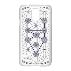Tree Of Life Flower Of Life Stage Samsung Galaxy S5 Case (White)