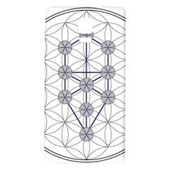 Tree Of Life Flower Of Life Stage Galaxy Note 4 Back Case