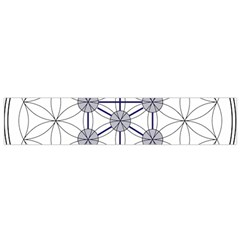 Tree Of Life Flower Of Life Stage Flano Scarf (Small)