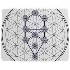 Tree Of Life Flower Of Life Stage Jigsaw Puzzle Photo Stand (Rectangular)