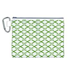 Wallpaper Of Scissors Vector Clipart Canvas Cosmetic Bag (L)