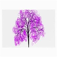 Purple Tree Large Glasses Cloth