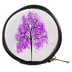 Purple Tree Mini Makeup Bags
