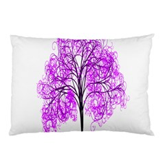 Purple Tree Pillow Case (two Sides)