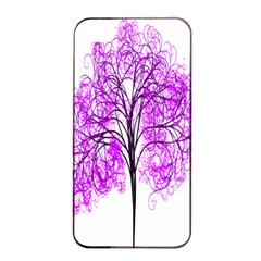 Purple Tree Apple iPhone 4/4s Seamless Case (Black)