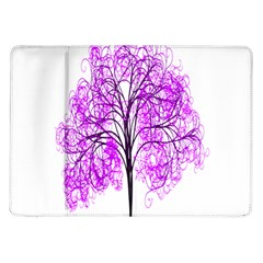 Purple Tree Samsung Galaxy Tab 10.1  P7500 Flip Case