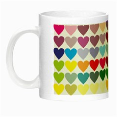 Heart Love Color Colorful Night Luminous Mugs