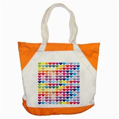 Heart Love Color Colorful Accent Tote Bag