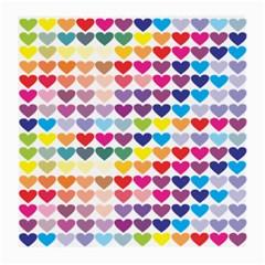 Heart Love Color Colorful Medium Glasses Cloth
