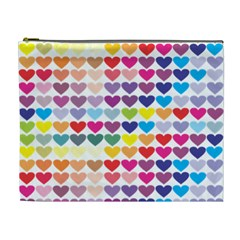 Heart Love Color Colorful Cosmetic Bag (XL)