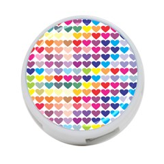 Heart Love Color Colorful 4-Port USB Hub (Two Sides)