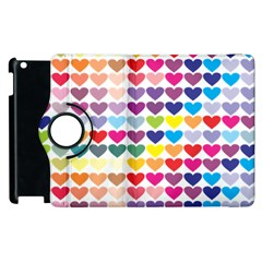 Heart Love Color Colorful Apple iPad 2 Flip 360 Case