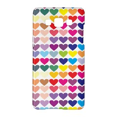 Heart Love Color Colorful Samsung Galaxy A5 Hardshell Case