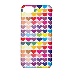 Heart Love Color Colorful Apple Iphone 7 Hardshell Case