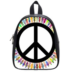 Male Man Boy Masculine Sex Gender School Bags (Small)