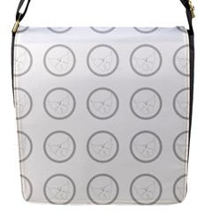 Butterfly Wallpaper Background Flap Messenger Bag (s)