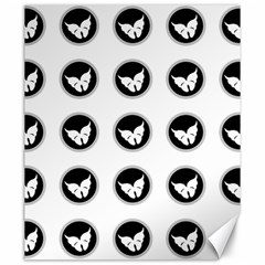 Butterfly Wallpaper Background Canvas 20  x 24