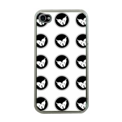 Butterfly Wallpaper Background Apple iPhone 4 Case (Clear)