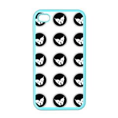 Butterfly Wallpaper Background Apple iPhone 4 Case (Color)