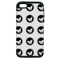 Butterfly Wallpaper Background Apple iPhone 5 Hardshell Case (PC+Silicone)