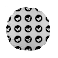 Butterfly Wallpaper Background Standard 15  Premium Round Cushions
