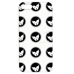 Butterfly Wallpaper Background Apple iPhone 5 Hardshell Case with Stand