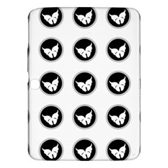 Butterfly Wallpaper Background Samsung Galaxy Tab 3 (10.1 ) P5200 Hardshell Case