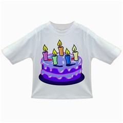 Cake Happy Birthday Infant/Toddler T-Shirts