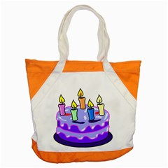 Cake Happy Birthday Accent Tote Bag