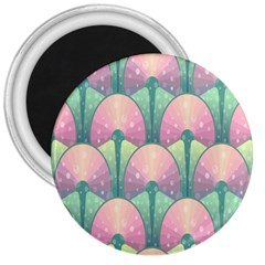 Seamless Pattern Seamless Design 3  Magnets