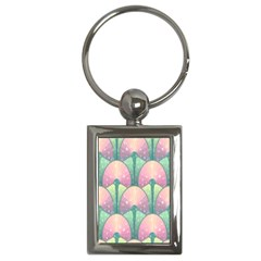 Seamless Pattern Seamless Design Key Chains (Rectangle)