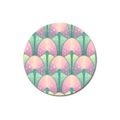 Seamless Pattern Seamless Design Magnet 3  (Round)