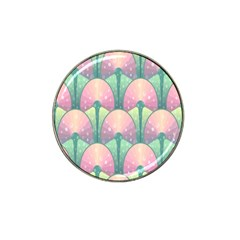 Seamless Pattern Seamless Design Hat Clip Ball Marker (4 pack)