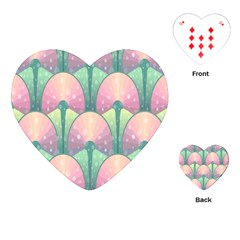 Seamless Pattern Seamless Design Playing Cards (Heart)