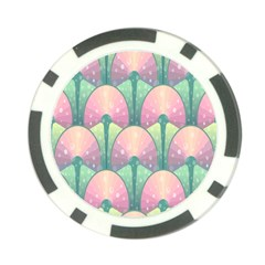 Seamless Pattern Seamless Design Poker Chip Card Guard (10 pack)