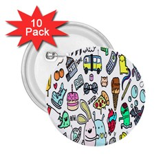 Story Of Our Life 2.25  Buttons (10 pack)