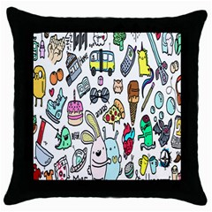 Story Of Our Life Throw Pillow Case (Black)